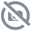 Pendentif Loup Ovale Wolf Turquoise